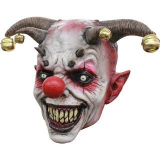Jingle Jangle Clown Halloween Mask