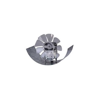 Canarm DB6S 253 CFM 2.2 Sone Adjustable In-Line Boosted Duct Exhaust Fan