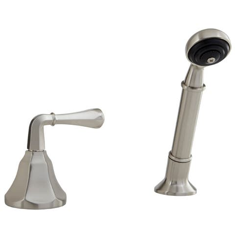 Mirabelle MIRKW2RTD Single Function Deck Mounted Hand Shower with