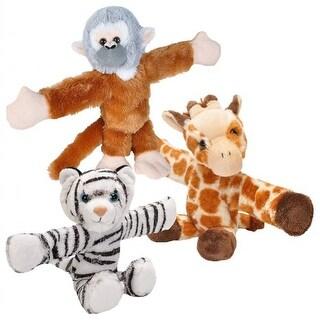Huggers Plush Giraffe, Monkey, and Tiger