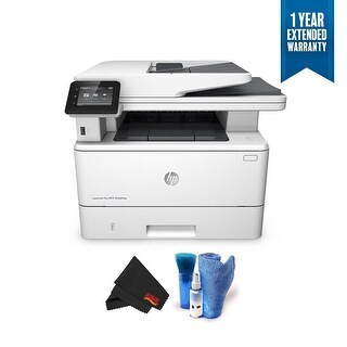 HP LaserJet Pro M426fdw All-in-One Multifunction Wireless Laser Printer Bundle with 1 Year Extended Warranty