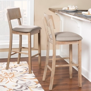 Link to Loren Gray Wash Bar Stool Similar Items in Dining Room & Bar Furniture