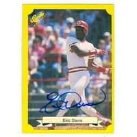 Shop Cincinnati Reds 1991 Classic No T34 Eric Davis Ed Baseball