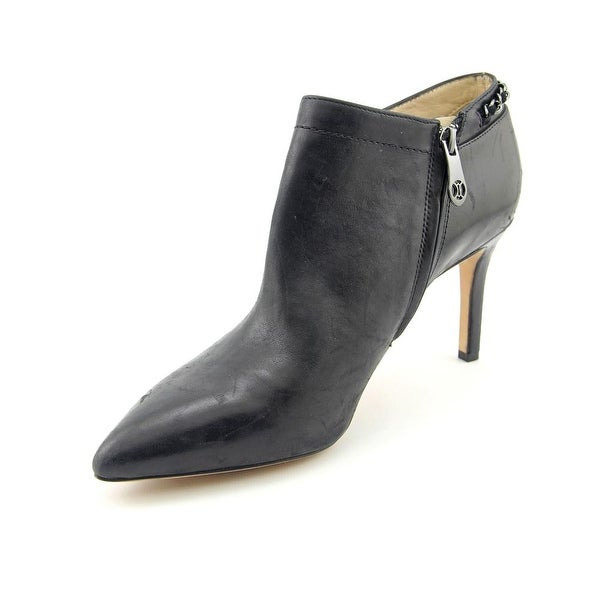 Carolinna Espinosa Banks Women Pointed Toe Leather Bootie