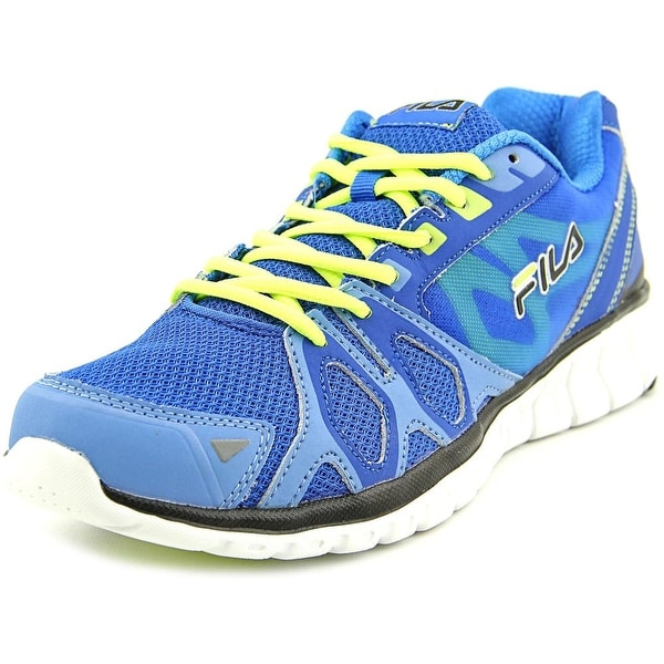 Fila Shadow Sprinter Men Round Toe Synthetic Blue Running Shoe