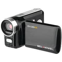"""Bell & Howell ELBDV200HDB Bell & Howell DV200HD Digital Camcorder, 1280 x 720p HD Video Resolution, 4x Digital Zoom"""