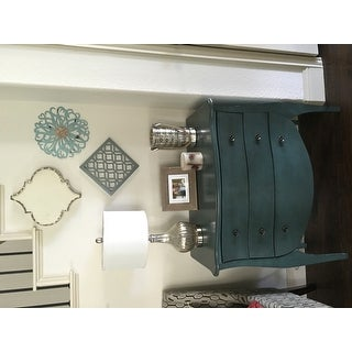 The Curated Nomad Arenas French Country 3-Drawer Chest