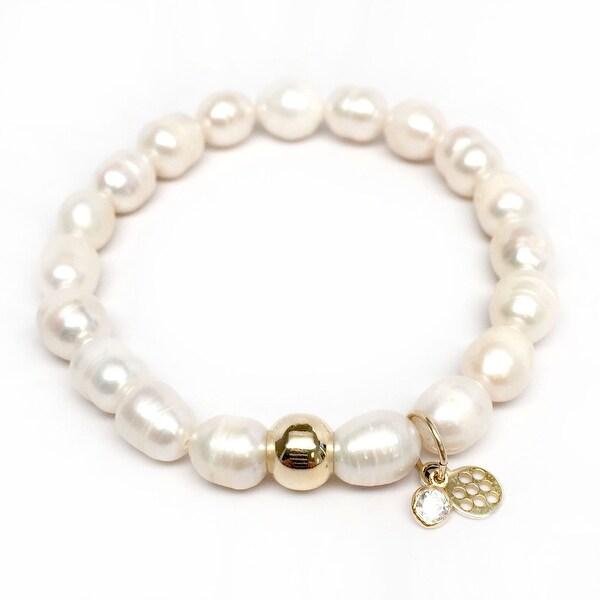 "Freshwater Pearl Emma 7"" Bracelet"