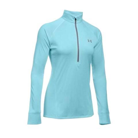 Under Armour Women's Twisted Tech 1/2 Zip Long Sleeve Shirt, 1270525