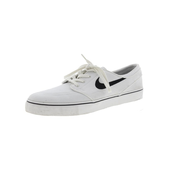 new product 08d37 4c123 Nike Mens SB Zoom Stefan Janoski CNVS Skate Shoes Canvas Signature