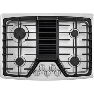 Frigidaire RC30DG60PS 30 Inch 4 Burner Gas Cooktop with Built-In 500 CFM Downdraft Exhaust, Pro-Select Controls and