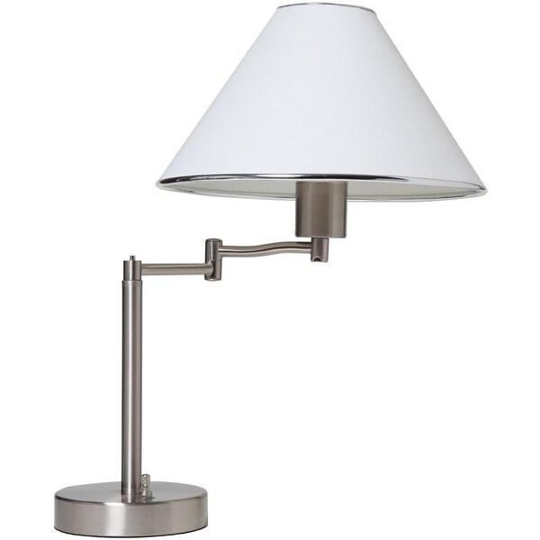Shop Boston Harbor Tl Tb 8008 3l Swing Arm Adjustable Table Lamp