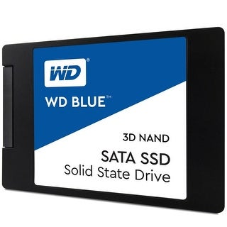 """Western Digital Wds250g2b0a Blue 3D Nand 250Gb Pc Ssd - Sata Iii 6 Gb/S 2.5""""/7Mm Ssd"""