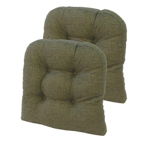 "Gripper Tyson 15"" x 15"" Universal Chair Cushion, set of 2"