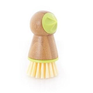 Full Circle Tater Mate potato brush with eye remover, Green