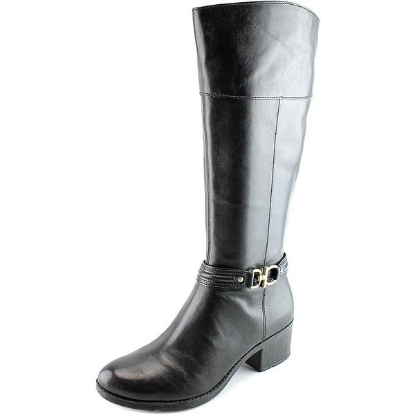 Bandolino Women's Ulla Wide Calf Riding Boot