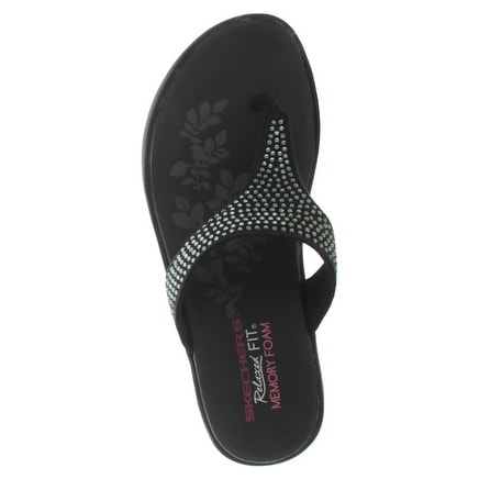 Skechers Upgrade Studly Women's Studded Wedge Sandals