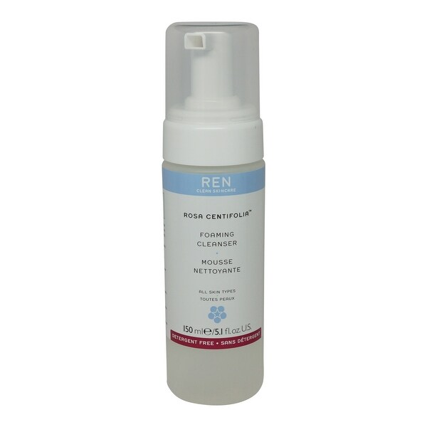 REN Skincare Rosa Centifolia Foaming Cleanser 5.1 Oz