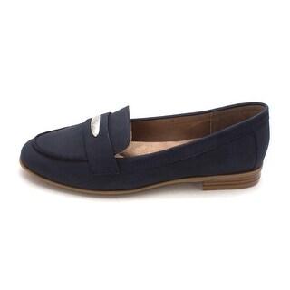 Giani Bernini Womens Chelaa Leather Closed Toe Loafers