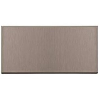 Acp Wall Tiles 3 x 6 in. Short Grain Stainless Steel - Case of 5