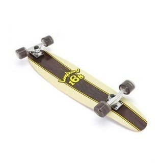 SSE-4609-RD Complete Logo 168 Long Board Black Color Kick Tail 46 i