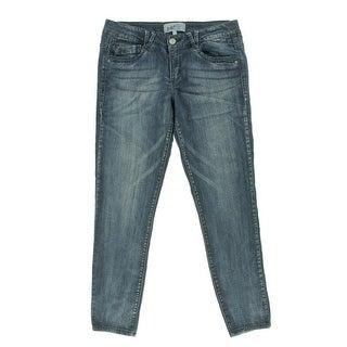 Jolt Womens Juniors Skinny Jeans Medium Wash Mid-Rise - 7