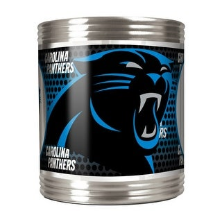 Great American Products Carolina Panthers Can Holder Stainless Steel Can Holder