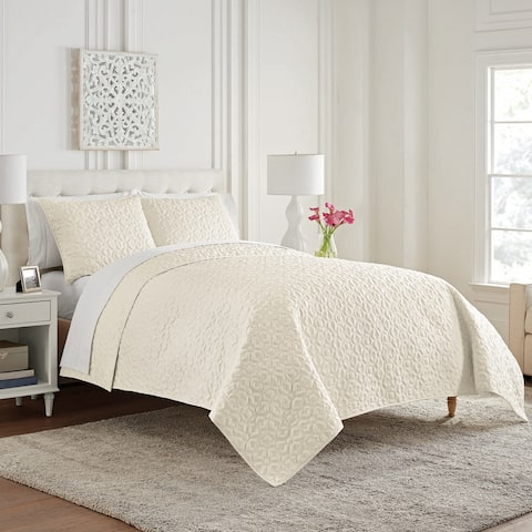 Waterford Mosaic 3PC. Coverlet Set