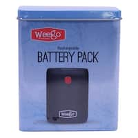 "Weego 12"" Rechargeable Battery 10400mah Pack Micro USB Fast Charge Cord BP104X"