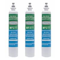 Replacement Water Filter For GE PFE28RSHSS Refrigerator Water Filter by Aqua Fresh (3 Pack)