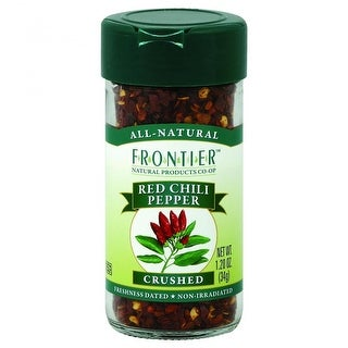 Frontier Herb - Crushed Red Chili Peppers ( 4 - 1.2 OZ)