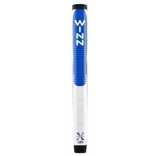 """Winn Pro X 1.18"""" Blue/Gray Putter Golf Grip"""