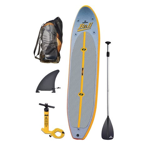 """Solstice Bali Inflatable Stand Up Paddleboard 10'-8"""" Length SUP"""