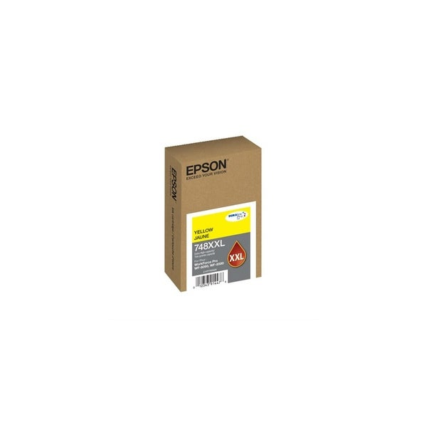 Epson 748 Ink Cartridge Extra Large Capacity - Yellow 748 Ink Cartridge Extra Large Capacity - Yellow