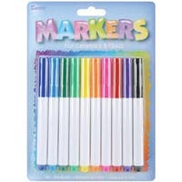Glass Markers 10/Pkg-Assorted Colors