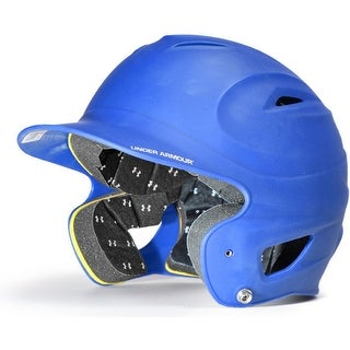 Under Armour Adult Solid Batting Helmet (Royal Blue)