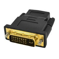 Unique Bargains Computer Spare Parts DVI-I Dual Link 24+5 Male to HDMI Female Adapter