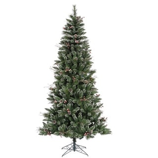 "4.5' x 28"" SnowTip Berry Tree 310Tips"