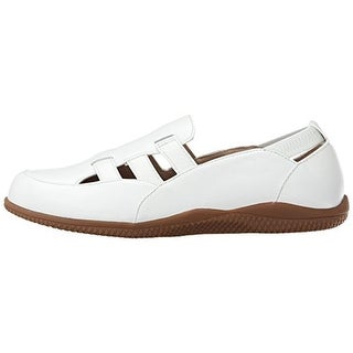 SoftWalk Womens Hampton Leather Slip On Casual Shoes - 9 narrow (s)
