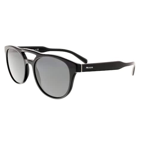 c8ce352473889 Prada PR13TS 1AB5S0 Black Square Sunglasses - 54-19-145