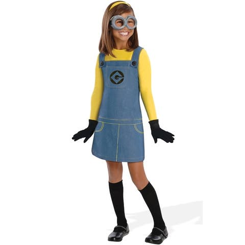 Rubies Despicable Me 2 Female Minion Child Costume - Yellow/Blue