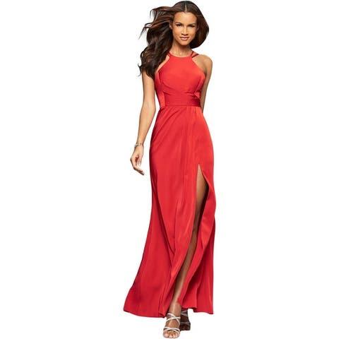 Faviana Womens Evening Dress Satin Prom