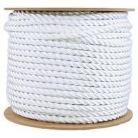 """Wellington 11009 Nylon Rope, 1/2"""" x 300', Silvery White"""