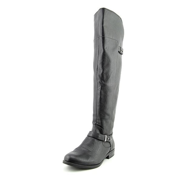 Bar III Deidre Womens Black Boots