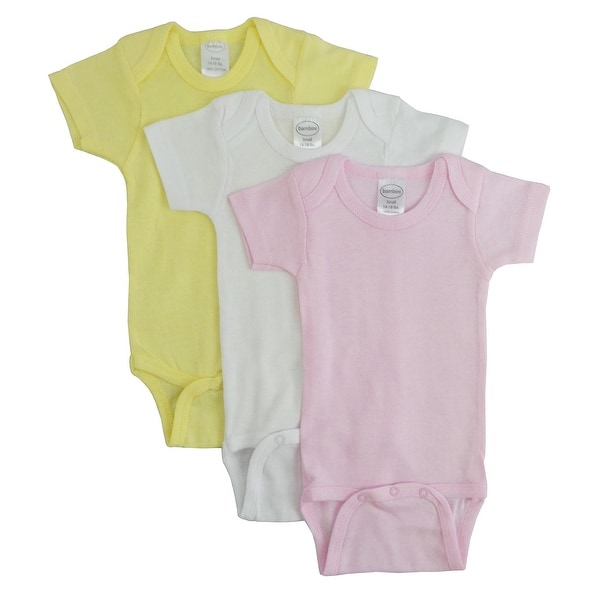 Bambini Pastel Girls Short Sleeve Variety Pack - Size - Medium - Girl