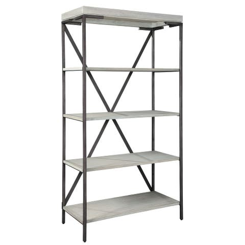 Hekman Furniture 5-shelf Wood Bookshelf