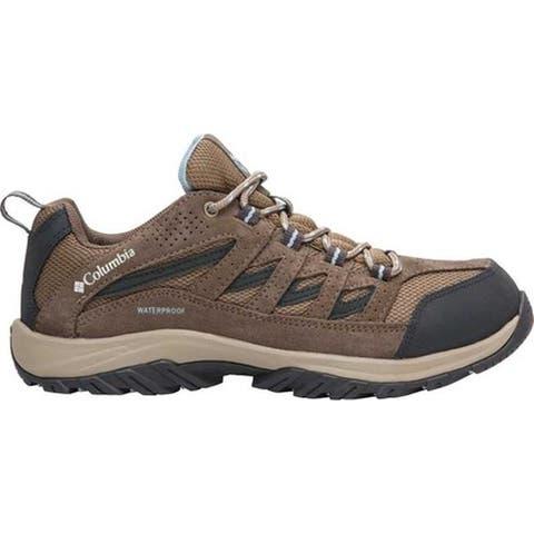 Columbia Women's Crestwood Waterproof Hiking Shoe Pebble/Oxygen