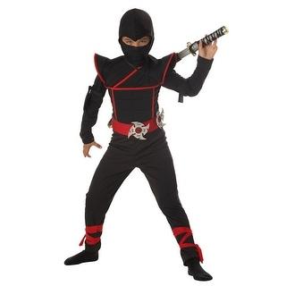 California Costumes Stealth Ninja Child Costume - Black