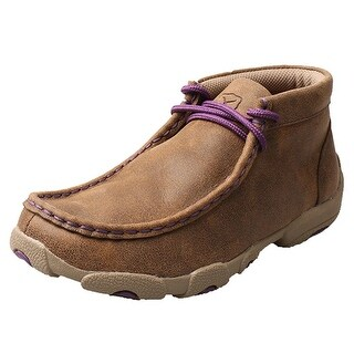 Twisted X Casual Shoes Girls Kids Driving Mocs Lace Bomber