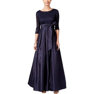 Jessica Howard Womens Formal Dress Lace Sequined
